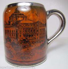 Antique Ridgways Souvenir Washington DC Mug Congressional Library The Capitol