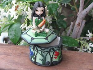 Strangeling Fairies ~ My Fairy Frog Friends Trinket Box- Jasmine Becket-Griffith