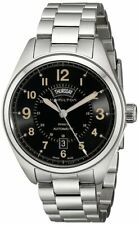Hamilton Men's H70505933 Khaki Field Analog Display Automatic Self Wind Silver Watch