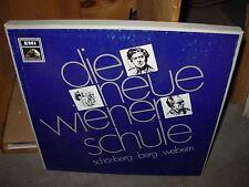 SCHONBERG / BERG / WEBEM neue schule ( classical ) 4lp box set - emi germany -