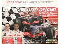 Scalextric Superslot H1209 Circuito Vodafone McLaren Mercedes Alonso-Hamilton