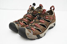 KEEN ARROYO II WATERPROOF LEATHER HIKING MOUNTAINEERING SPORT SANDALS MENS 9 J2