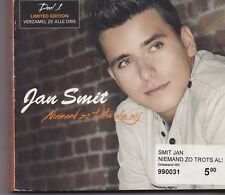 Jan Smit-Niemand Zo Trots Als Wij Box with 3 cd maxi singles
