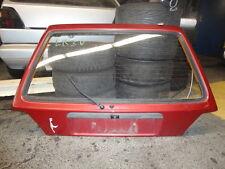 VW Golf 2 II  Kofferraumdeckel Heckklappe Rot LB3V