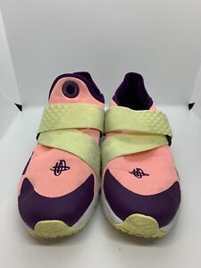 NIKE Huarache Extreme GS Pink Citron Sneakers 7Y AV8239-600