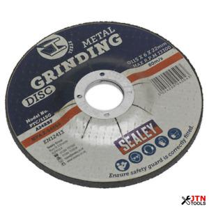 Sealey PTC/115G Metal Grinding Disc 115 x 6 x 22mm