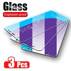 3Pcs Protective Tempered Glass Screen Protector For Samsung Galaxy A7 A9 A50 A51