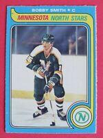 1979-80 O-Pee-Chee OPC Bobby Smith RC # 206, Minnesota North Stars, ExMt