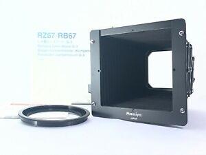 <TOP MINT+++> Mamiya RZ67 RB67 Bellows Lens Hood G-3 G3 77mm Adapter Japan 2628