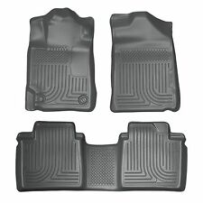 Husky Liners WeatherBeater Floor Mats - 3pc - 98512 - Toyota Camry 07-11 - Grey