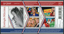 Netherlands 2021 MNH Royalty Stamps Queen Maxima 50th Birthday 5v M/S