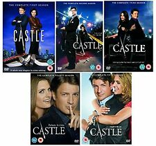 The Complete Castle TV Series 25 Discs DVD Collection Set Season 1 2 3 4 5 NEW