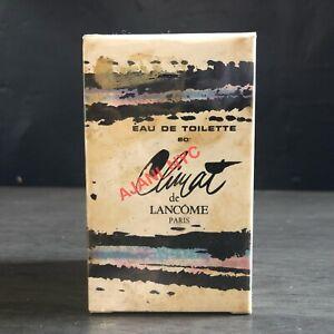Vintage Lancôme Climat Eau De Toilette EDT 2 Fl oz 1960's Sealed in Cellophane