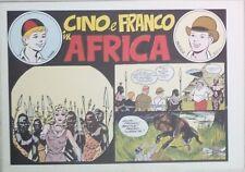 CINO E FRANCO IN AFRICA (Nerbini) Ristampa Anastatica