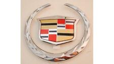 NEW!! Cadillac XLR 2004 2005 2006 2007 2008 GRILLE WREATH & CREST EMBLEM!!