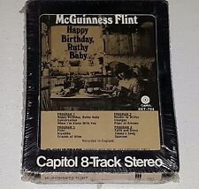 MCGUINNESS FLINT SEALED Happy Birthday Ruthy Baby 8-TRACK TAPE The Byrds Blues