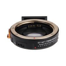 Fotodiox Pro FUSION Redux Auto Focus Adapter Canon EOS EF Lenses to MFT Camera