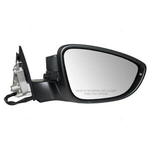 Door Mirror fits 2012 Volkswagen Passat Passenger Side Power Heated Signal Gray