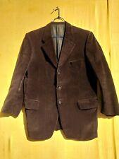 ancienne veste en gros velours paysan , campagne / 349