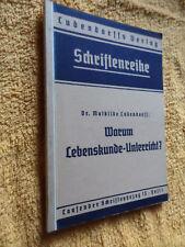 Ludendorff warum Lebenskunde Unterricht ?Schriftenreihe