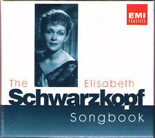 The Elisabeth Schwarzkopf Carnet de chansons EMI 3cd Brahms Jensen MAHLER Mozart Schubert