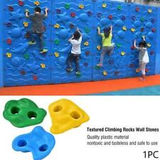1 pcs / set Colorful Plastic Rock Climbing Wall Assorted Stones For Childre G6Q1