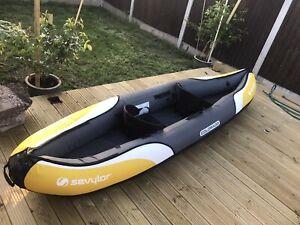 Sevylor Colorado Kit 2 Person Inflatable Canoe Kayak