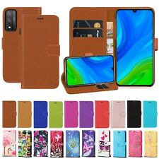 For Huawei P Smart 2020 PU Leather Wallet Flip Stand Shockproof Case Cover
