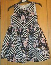 GIRLS AGE 5 YEARS STRIPED FLOWER DRESS