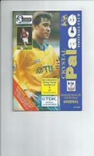 Away Teams Arsenal Premiership Football Programmes