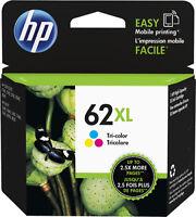 HP - 62XL High-Yield Ink Cartridge - Cyan/Magenta/Yellow