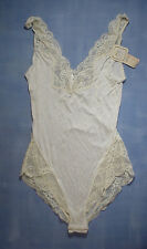 Vintage Wacoal 83108 Rayon Blend Teddy Size Small in Ivory
