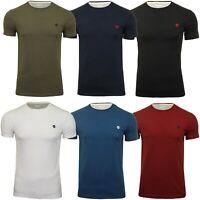 Timberland Mens Jersey T-Shirt 'Dun-River Crew Tee' - Short Sleeved