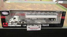 DCP #32271 SALAMONIE MILLS VOLVO SEMI DAY CAB TRUCK & GRAIN TRAILER 1:64/ FC