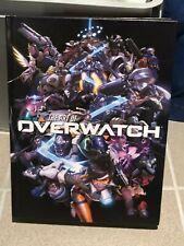 The Art of Overwatch Hardcover Book + Overwatch Journal