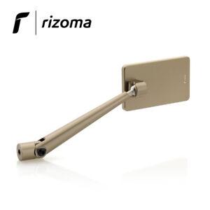 Rétroviseur Dx / SX [RIZOMA] Quantum Side - Pour Moto / Bronze 21 - BS213Z