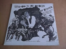 Sex Pistols - Welcome to the Rodeo rare live LP Not Tmoq SEALED