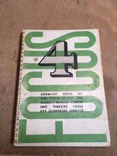Focus 4 Summer 1939 Art/Design Architectural Quarterly Magazine Chermayeff Korn