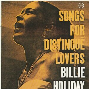 Billie Holliday Songs For Distingué Lovers CD