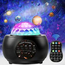 LED Galaxy Projector Starry Night Light Laser Star Sky...
