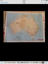 GPS 4x4 4WD  MAP OFFICIAL GREGORY AUSTRALIAN MAP- BIG 850MM ARB VMS HEMA FORD
