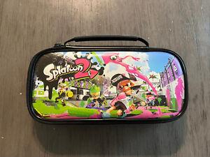 Nintendo Switch Splatoon 2 Game Traveler Deluxe Travel Case Only EUC