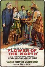 FLOWER OF THE NORTH Movie POSTER 27x40 Henry B. Walthall Pauline Starke Harry