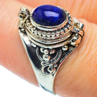 Lapis Lazuli 925 Sterling Silver Ring Size 8 Ana Co Jewelry R36198F