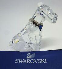 "Swarovski Crystal Figure The Dog ""Symbols"" 289202 MIB  W/COA"