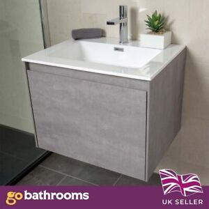 Urban Bathroom Furniture Vanity Unit Storage Bathroom Cabinet Sink WC Unit