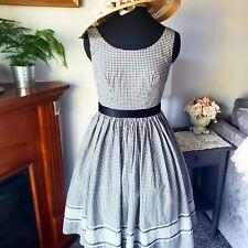 Vintage 1950's Gingham Sun Dress