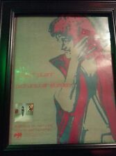 Robert Plant Pictures At Eleven Rare Original Promo Poster Ad Framed!