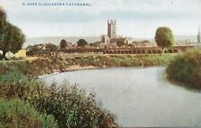 GLOUCESTER CATHEDRAL, ST. CATHERINES VIADUCT * PHOTOCHROM CELESQUE C.4347 * 39