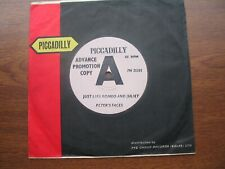 """Peter's Faces - Just Like Romeo And Juliet. Demo Promo 7"""" Vinyl Single."""